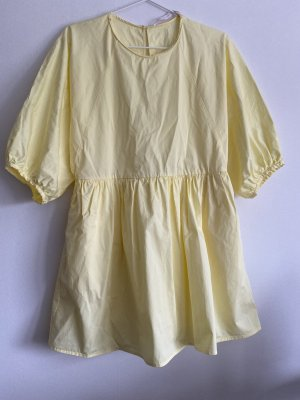 Zara Trafaluc Robe d'été jaune primevère-jaune