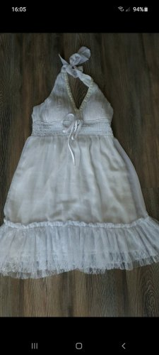 Halter Dress white