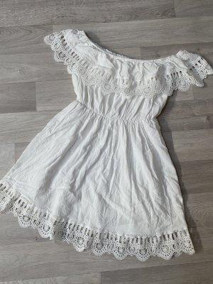 Sukienka z wycięciem biały
