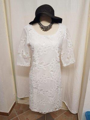 Sommerkleid weiß in Größe 40