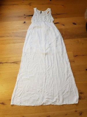 Rainbow Summer Dress white