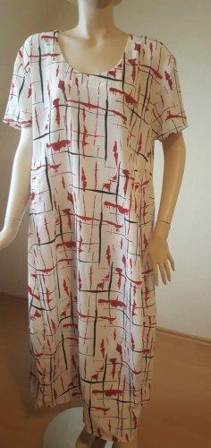 Handmade Summer Dress white-red