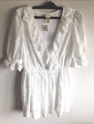 Sommerkleid Weiß Spitze Limited Edition