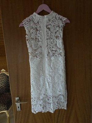 Sommerkleid weiße Spitze