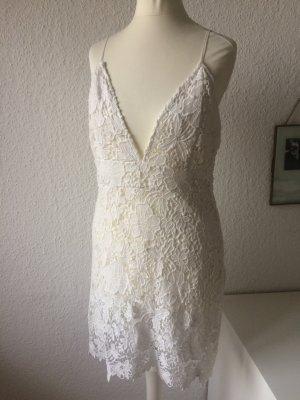 Sommerkleid | Weiße Spitze