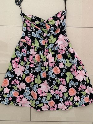 Sommerkleid XS/34 trägerlos, H&M, Rückenausschnitt