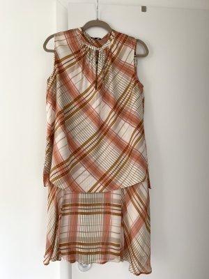 Massimo Dutti Summer Dress multicolored polyester