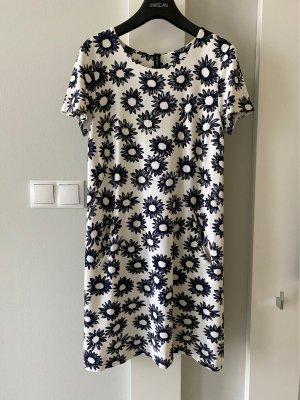 Marc Cain Shortsleeve Dress white-dark blue