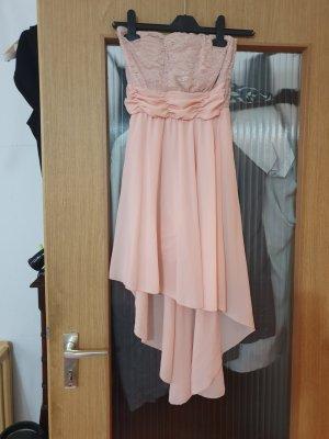 19V69 ITALIA Sukienka bez ramiączek różany