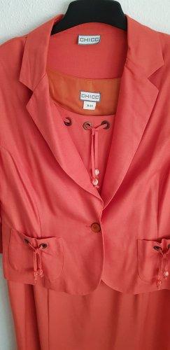 Chicc Ladies' Suit orange