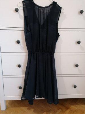 Bershka Robe courte bleu foncé