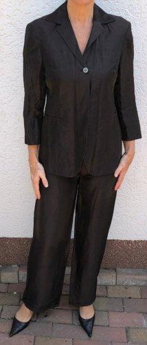 Zapa Traje de pantalón marrón oscuro