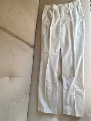 Zara Pantalon chinos blanc cassé-beige clair