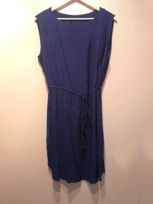 Sommerlich luftiges Kleid von MANGO in Blau, Gr. XL