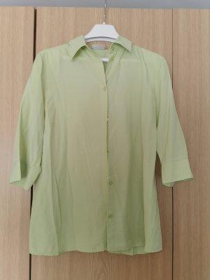 sommerliche Bluse hellgrün