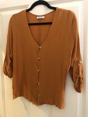 Sommerliche Bluse in Orange
