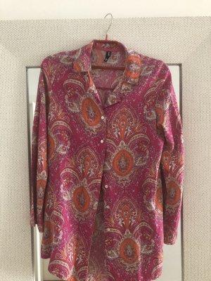 Sommerliche Bluse mit Paisley Print