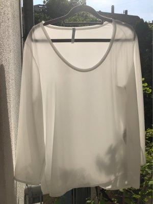 Imperial Blusa trasparente bianco