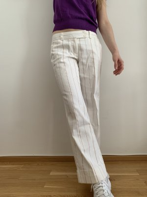 Elements Pantalon Marlene blanc-rouge