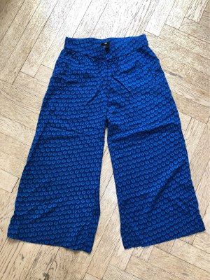 H&M Falda pantalón de pernera ancha multicolor