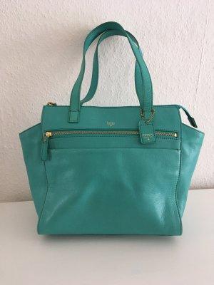 Fossil Handbag turquoise
