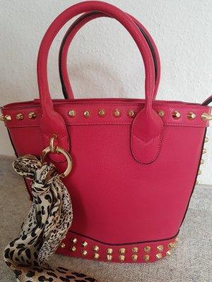 sommerliche Henkel-Handtasche