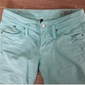 Tommy Hilfiger Jeans 7/8 turquoise-vert menthe