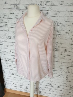 Only Oversized Blouse white-pink