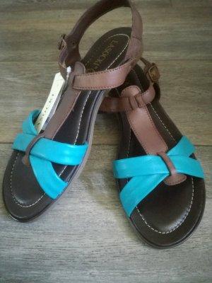 Lasocki Sandalo con cinturino marrone-blu fiordaliso