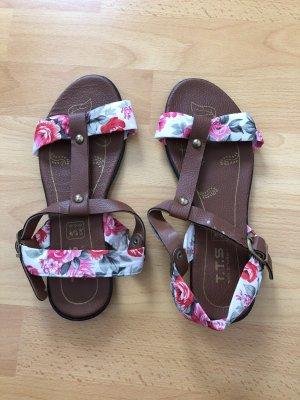 Sandalo romano multicolore