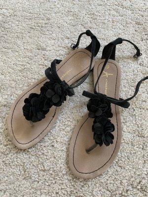 Atmosphere Sandalo con cinturino nero-beige