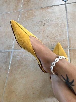 DEPP Scarpa slip-on giallo