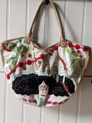 sommerliche Stoff Handtasche