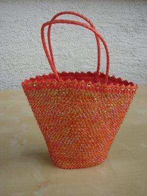 Basket Bag neon orange