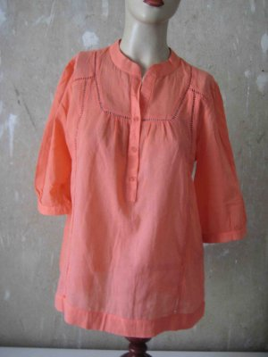 sommerliche Tunika-Bluse in apricot - casual Look