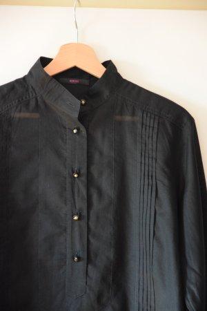 sommerliche Tunikabluse schwarz - Versus