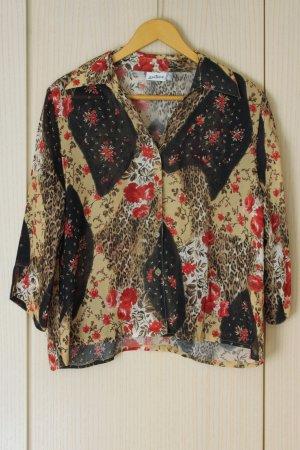 Sommerliche Vintage-Bluse 80er Jahre
