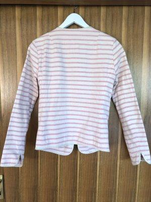 Yaya Blazer en jersey blanc cassé-rosé coton