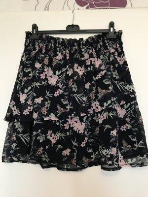 NKD Jupe superposée noir-rosé polyester
