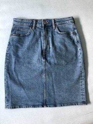 H&M Jeansowa spódnica niebieski