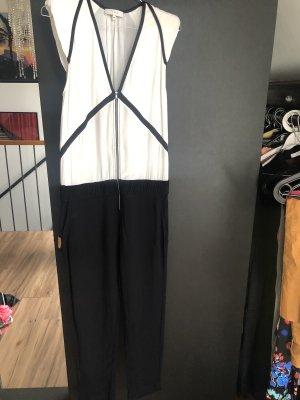 Iro Jumpsuit white-black