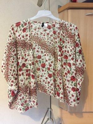 Sommerlicher Kimono geblümt