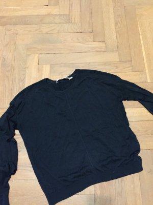 sommerlicher Pullover &other stories schwarz Gr. 38 Zara