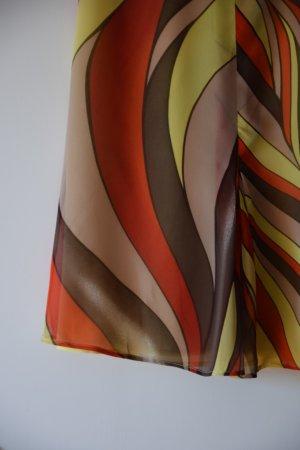 Gianni Versace Silk Skirt multicolored viscose