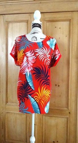 Sommerliches Blusen-Shirt /Tunika - Gr. 44 - fiora blue (HSE24)