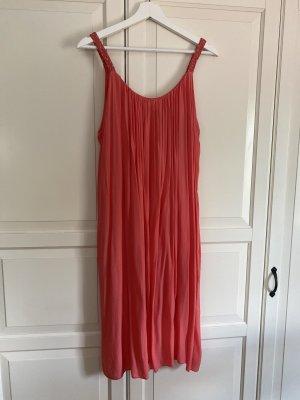 Aust Letnia sukienka łosowiowy-jasnoczerwony