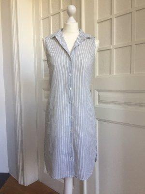H&M Koszulowa sukienka biały-szary