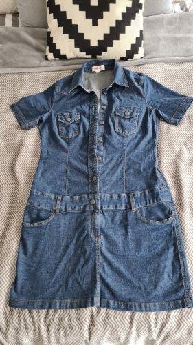 John Baner Jeansowa sukienka niebieski