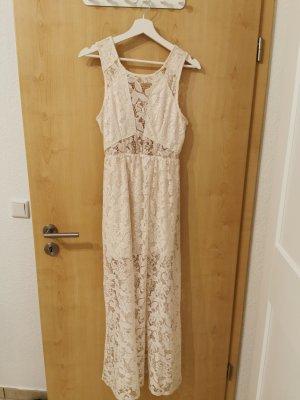 H&M Kanten jurk wit