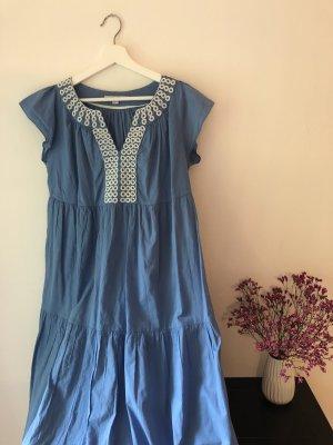 Boden Mini Dress multicolored cotton